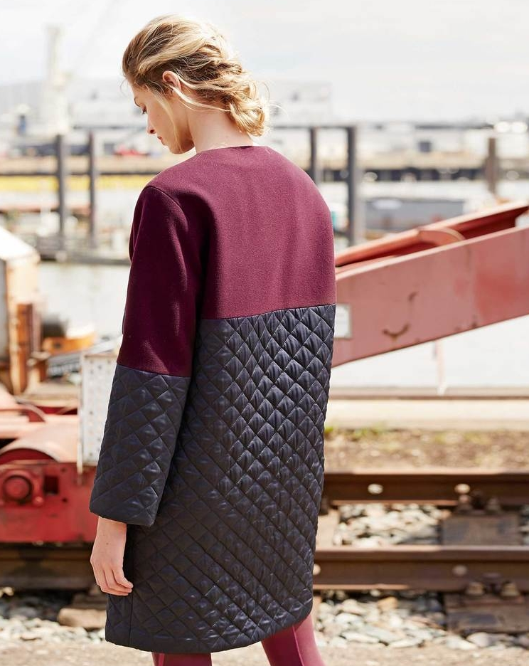 Wollmantel mit Steppung 11/2017 #113