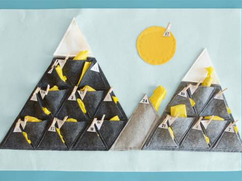 DIY Adventskalender BErge