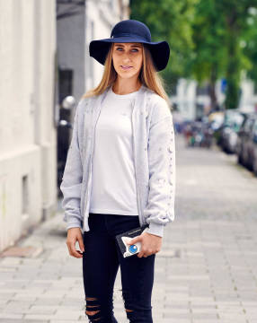 Vom Sweatshirt zu Jacke in 5 easy Steps